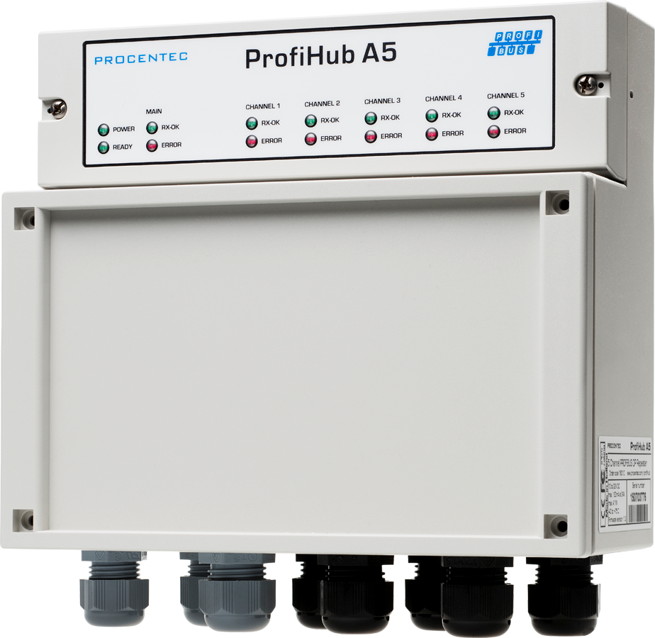 ProfiHub A5 - met 110V/230V power unit - visual 1