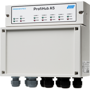 ProfiHub A5 - met 110V/230V power unit