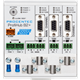 ProfiHub B2+R – 3-segment PROFIBUS DP-repeater - visual 2